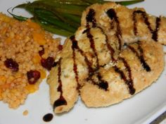Kate's Cure for the Common Cuisine: Goat Cheese Chicken Tenders