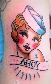 87c05678a angelique houtkamp sailor pin up Pin Up Girl Tattoo, Tattoo You, Dutch  Tattoo,