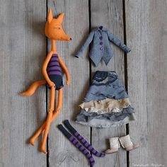 Лиза Вторая Рост 50 см, 4100 р. +300р.за услуги почты России. Куколку можно заказать - для этого напишите комментарий здесь или сообщение в директ. Сошью в течении 3-5 дней. Оплата на карту сбербанка. #кукла #лиса #игрушки #handmade #doll #toy #tanushkini_igrushki