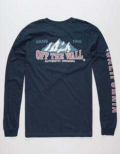 d63acf534989dc Men s Long Sleeve T-Shirts. Vans ...