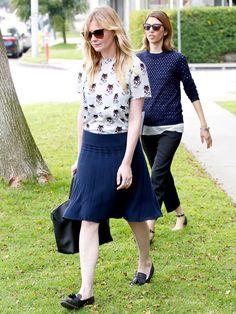 Kirsten Dunst & Sophia Coppola