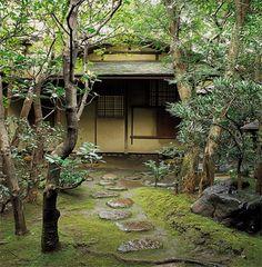 江戸千家茶室一円庵外観...Japanese tea room