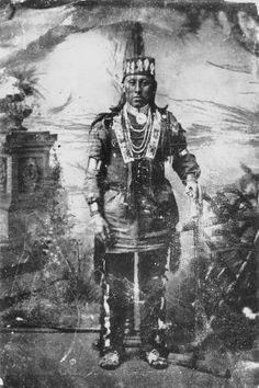 Omaha man - circa 1880
