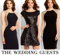 Camille La Vie Short Black Dresses with Sparkle - the perfect LBD of any hot party or cocktail event