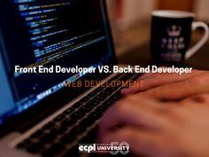 Front End vs. Back End Developers