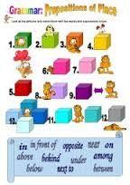 Resultado de imagen para prepositions of place
