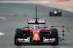 F1 testing Bahrain, Sakir February 27- March 2, 2014