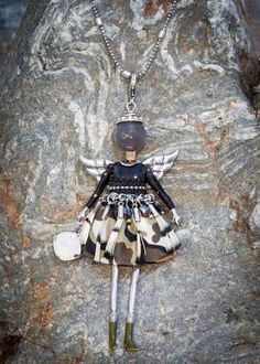 French Angel Doll Necklace Lara - WAS £29