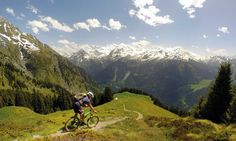 Top 10 mountain bike rides in the Alps