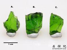 石探紀》購物晶礦:俄羅斯鉻透輝石 (Chrome Diopside)
