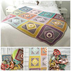 Charlotte's Dream, de nieuwste deken van Dedri Uys en haar vriendin Jenny.