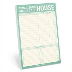 Knock Knock Things to Do Around the House Pad: Knock Knock: 0825703120455: Amazon.com: Books