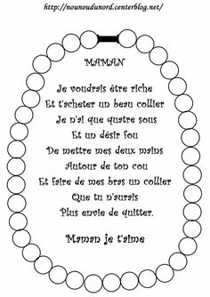 Poème fête des mères colorier ou coller des gommettes Cadeau Parents, Art For Kids, Crafts For Kids, Mother's Day Activities, French Lessons, Vintage Tags, Mother And Father, Mothers Love, Spring Crafts