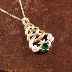 Claddagh Knot Necklace by The Irish Jewelry Company, http://www.amazon.com/dp/B00EKTL7XQ/ref=cm_sw_r_pi_dp_OVvdsb1NK5QJM
