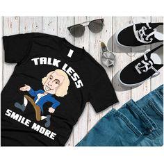 Funny Hamilton Shirt-Talk Less Smile Hamilton Shirt, Funny Hamilton, Talk Less Smile More, Adidas Jacket, Funny Quotes, Graphic Sweatshirt, Alexander Hamilton, American, Sweatshirts