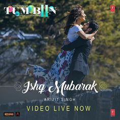 And here it is.lets celebrate love and falling in love -Ishq Mubarak ❤️spread the love https://youtu.be/qQJ7Bp3eWyY