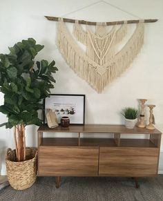 Everything handmade from my home to yours :) by NyxonCreations Modern Bohemian, Bohemian Decor, Bohemian Fashion, Bohemian Style, Large Macrame Wall Hanging, Beautiful Wall, Wall Decor, Handmade, Wall Hangings