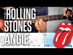 Angie - Rolling stones - Cours guitare + tablature - YouTube