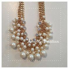 Pearl necklace Amy de Petatiux