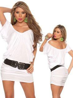 Sexy White Cap Sleeve Mini Dress | WomenProducts