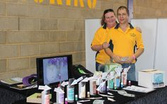 Essential Oils We Trust's, Paul & Kathy Pike at the Fraser Coast Regional Show 2014