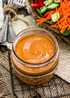 Tangy and creamy, this oil-free vegan Bold Russian Dressing is healthy, fast, and easy to make. It's perfect for salad lovers everywhere! Other Recipes, Whole Food Recipes, Healthy Salad Recipes, Vegan Recipes, Oil Free Salad Dressing, Russian Dressing, Vegan Party Food, Organic Maple Syrup, Vegan Sauces