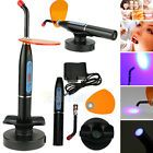 New Black Classic Rechargeable Light Curing Unit 5W Dental LED Curing Light Lamp