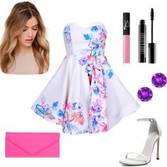 Untitled #5 by sonya0309 on Polyvore featuring polyvore fashion style Stuart Weitzman ALDO NARS Cosmetics Lord & Berry