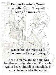 England headcanon. Hetalia. She really is remarkable.