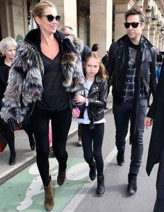 Kate Moss & Lila Grace