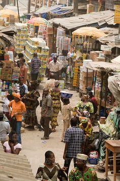 Jankara market, Lagos, Nigeria | Mark Shenley Photography