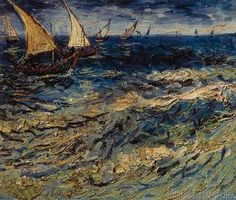 Vincent van Gogh - Seascape