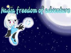 ●Nadia freedom of adventure tela
