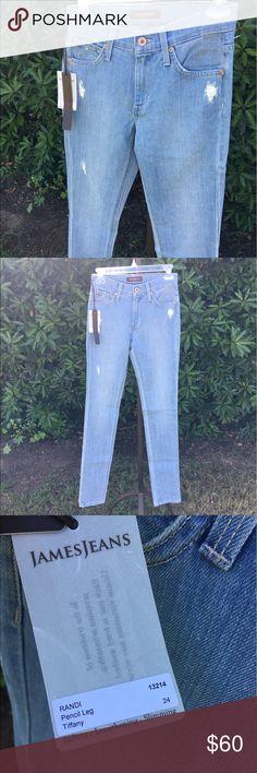NWT James Jeans Tiffany Pencil Leg Jeans NWT James Jeans Tiffany Pencil Leg Jeans James Jeans Pants Skinny