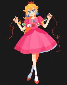 Super Mario And Luigi, Super Mario Art, Mario Bros., Mario Kart, Game Character, Character Design, Mario Fan Art, Nintendo Princess, Princesa Peach