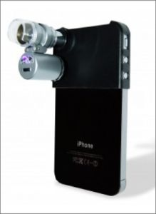 Photograph type from rare books collection at libraries — Mini Microscope for iPhone