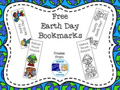 Free! Earth Day Bookmarks