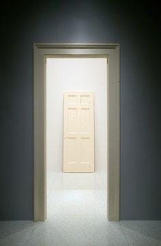 untitled door and door frame, 1987-88 • robert gober