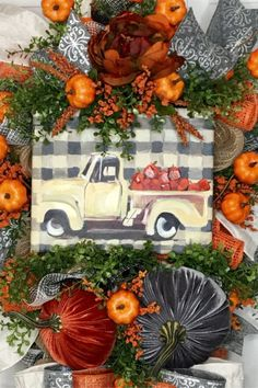 Sharing a fall swag by Sparkle & Rust Designs. See more images and purchase in her Etsy shop. Shop Trendy Tree online for fall decorations and wreath making supplies. Fall Door Decorations, Thanksgiving Decorations, Seasonal Decor, Halloween Decorations, Halloween Wreaths, Thanksgiving Ideas, Autumn Wreaths, Wreath Fall, Burlap Wreaths