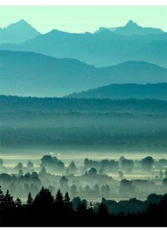 layers of British Columbia by Doug Matthews