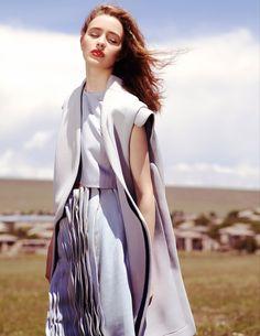 visual optimism; fashion editorials, shows, campaigns & more!: ingonyama: marisha urushadze by tsasha olivier for RÆV magazine!