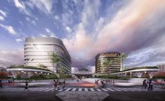 Gallery of Mecanoo Reveals Plans for Massive Green Train Station in Taiwan - 5