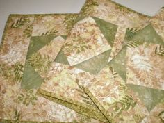 Summer Sale Last Days ! Quilted Botanical Table Runner Reversible Table Topper Table Accent Bedroom Dresser Housewarming Gift One Of A Kind