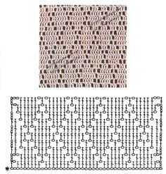 New Totally Free Crocheting Stitches guide Style 17 Trendy crochet stitches guide baby blankets Filet Crochet, Crochet Blanket Edging, Crochet Motifs, Crochet Diagram, Crochet Stitches Patterns, Crochet Chart, Crochet Doilies, Crochet Lace, Stitch Patterns