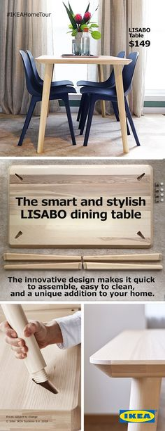 The LISABO dining ta