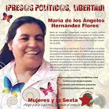 MENSAJE DE MARÍA DE LOS ÁNGELES HERNÁNDEZ FLORES, PRESA POLÍTICA EN TECPAN DE GALEANA, GRO.