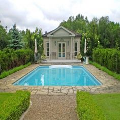 3111 The Grange Sideroad pool house. Swimming Pool House, Swimming Pools, Buying And Selling Houses, Toronto Neighbourhoods, All Nature, Peterborough, Country Estate, Pool Houses, Next At Home