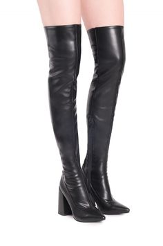Jeffrey Campbell Shoes RANSOM Boots in Black