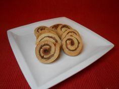 Μπισκότα σε σχήμα σαλιγκαριού