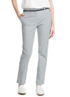 Seersucker suit trousers